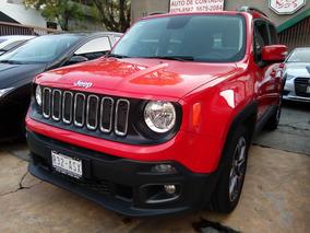 Jeep Renegade Latitude, Factura De Agencias Unico Dueño.