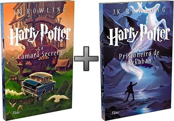 Harry Potter Livros 2 E 3: Prisioneiro Askaban; Câmara Secre