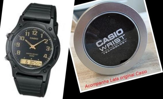 Relógio Casio Unissex Analógico - Digital Aw-49h