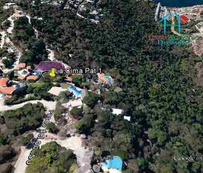 Cad La Cima Club Residencial Lote Pat 1 Con 1,923.45 M² Y Dos Frentes