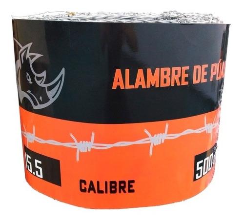 Rollo De Alambre De Púas 500 Metros 16.5 Y 15.5