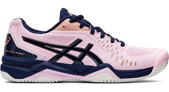 Asics Zapatillas Tenis Mujer Gel Challenger 12 Clay Rosa