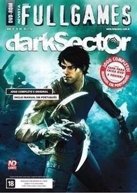 Jogo Pc Dvd Dark Sector - Lacrado - Game Pc Dvd
