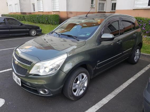 Chevrolet Agile Ltz 5 Portas Verde