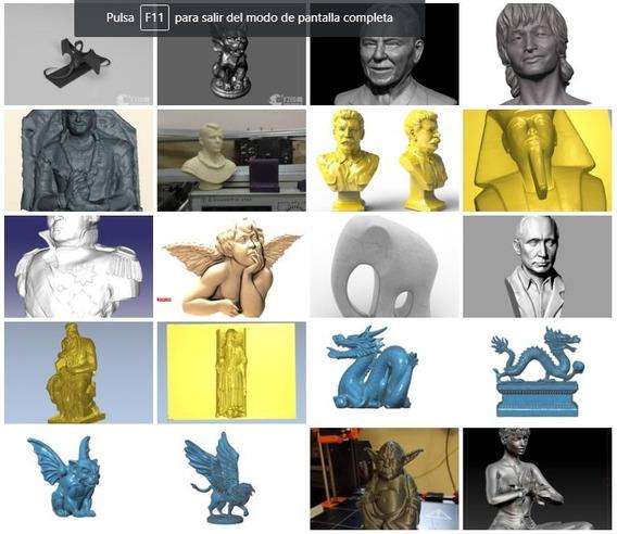 Archivos Stl Para Router E Impresora 3d Estatuas Y Bustos V3