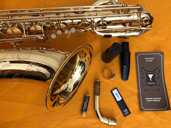 Sax Barítono Eagle Sb506 Estudo T R O C A S