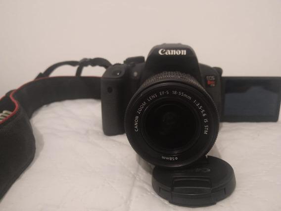 Câmera Canon Rebelt5i+18-55mm+cartão De Memória,3843 Cliques