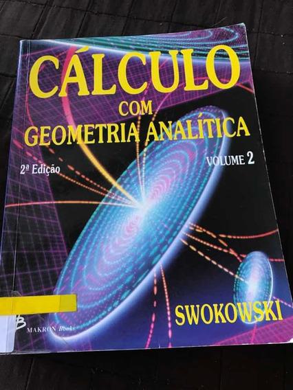 Livro Cálculo Com Geometria Analítica - Vol 2