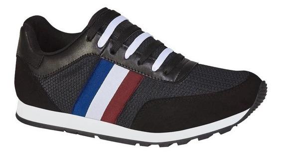 Tenis Casual Urban Shoes Negros Antiderrapantes 830118