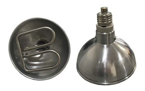 Campanula Elétrica Refletora De Calor Aluminio Eltra