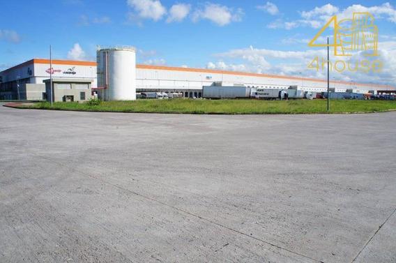 Pernambuco - Cabo De Santo Agostinho - Terreno Para Logística - Condomínio Multimodal - Te0105