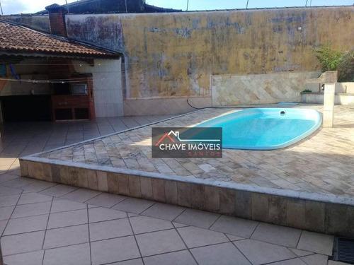 Imagem 1 de 30 de Casa Com 3 Dormitórios À Venda, 120 M² Por R$ 800.000,00 - Vila Caiçara - Praia Grande/sp - Ca0236