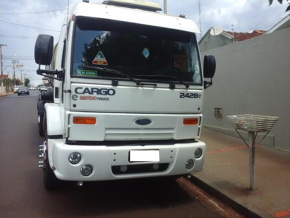 Caminhão Ford Cargo 2428 2008/batatais Caminhões