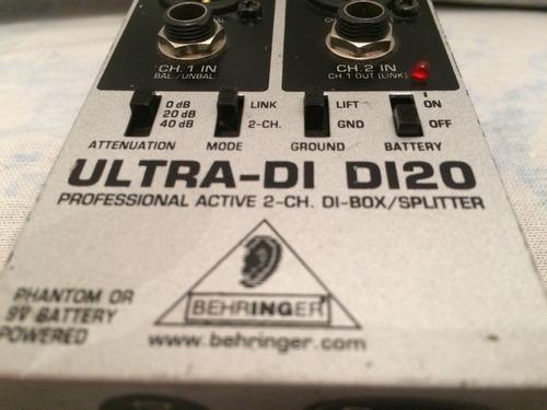 Caja Directa Behringer Ultra Di 120