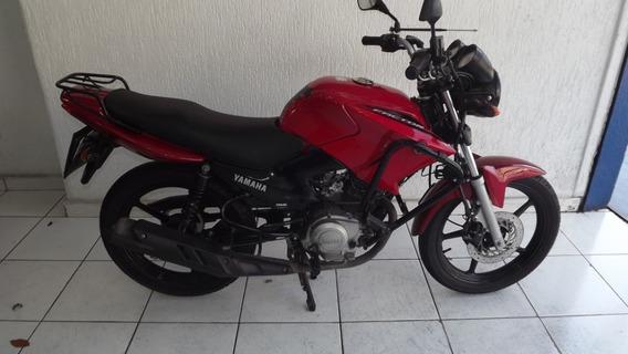 Yamaha Factor 125 Ed 2014 Vermelha