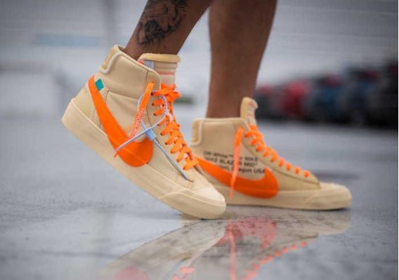 Off White X Nike Blazer All Hallows Eve Importados