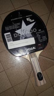 Raquetas De Ping Pong Stiga Dorado