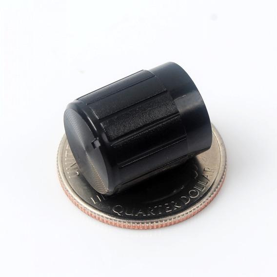 Knob Potenciometro Furo 6mm- Unidade