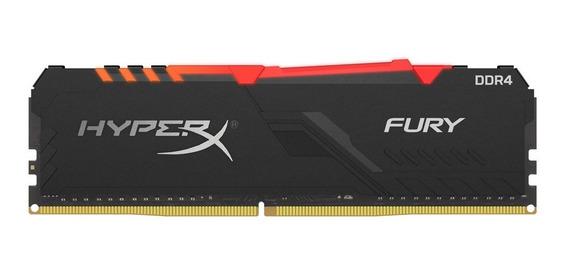 Memoria Pc Gamer Ddr4 Hyperx Fury 8gb 2666mhz Rgb Xellers