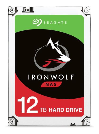 Disco rígido interno Seagate IronWolf ST12000VN0007 12TB