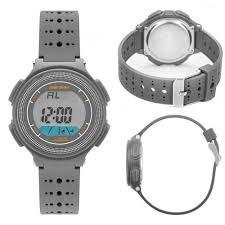 Relógio Mormaii Digital Cinza Infantil Ou Adulto Mo0974a/8c