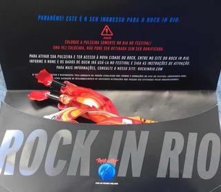 Ingresso Dia 29/09 Rock In Rio