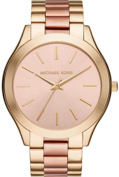 Relógio Michael Kors Mk3493/5tn Dourado/rosé