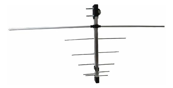 Antena Externa Uhf Hdtv Digital 12 Elementos Com Mastro