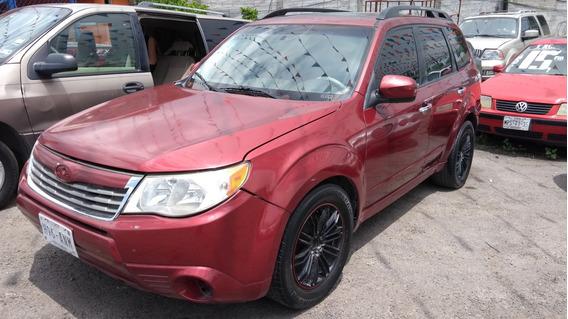Subaru Forester 2009 4 Cil Exelente 49,000 Eng Credito Hoy!