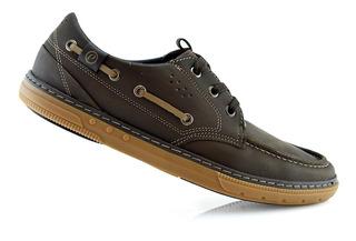 Zapatos Hombre Mocasín Cuero Pegada 115905-02 Luminares