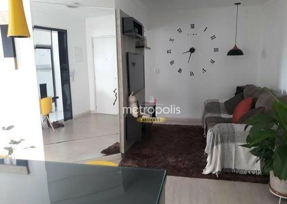 Apartamento Com 2 Dormitórios À Venda, 59 M² Por R$ 440.000 - Olímpico - São Caetano Do Sul/sp - Ap3423