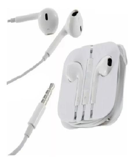 Fone De Ouvido C/ Entrada P2 Para iPhone Samsung LG Motorola