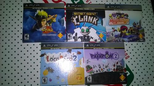 Juegos Originales De Psp - Los 5 Por 40 Soles - Playstation