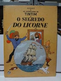 Gibi As Aventuras De Tintim O Segredo Do Licorne Hergé