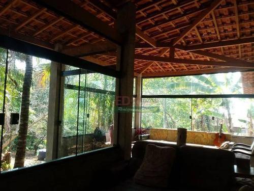 Imagem 1 de 16 de Chácara Com 3 Dormitórios À Venda, 2000 M² Por R$ 800.000,00 - Chácara Dallas - Taubaté/sp - Ch0434