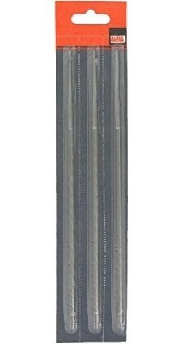 3 Unidades Lima Redonda 5/32`-8`bahco  4mm 200mm 3/8lp