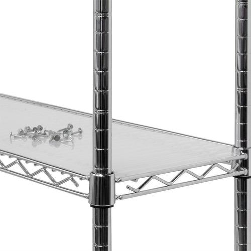 Imagem 1 de 4 de 5 Forros Chapa Plástica Flexível Gavetas Prateleiras 60x35cm