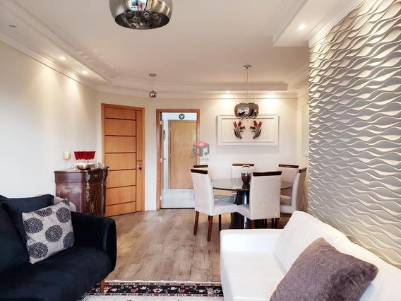 Lindo Apartamento Reformado Nova Petrópolis Sbc Sp - 46005