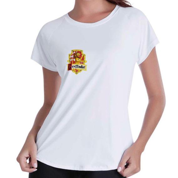 Camiseta Camisa Blusinha Feminina Griffinoria Harry Potter