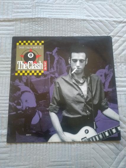 Lp The Clash Should I Stay Or Should I Go Vinil Importado