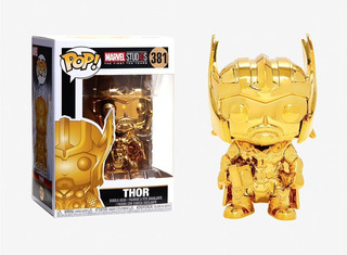 Muñeco Funko Pop Marvel Ms10 Thor 381 Orig!!
