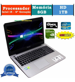 Notebook Asus X555u I5-6200u 8gb 1tera Nvidea Geforce 940m