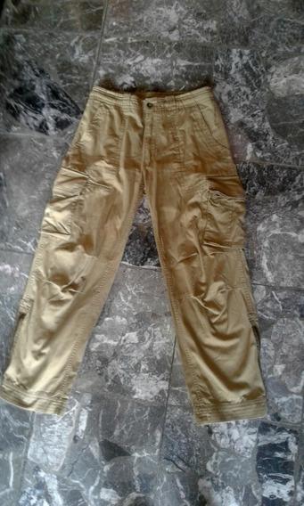 Pantalon Cargo Mistral Hombre Color Mostaza Talle L