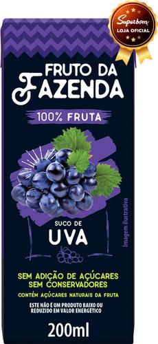 Suco De Uva 100% 200ml - Superbom