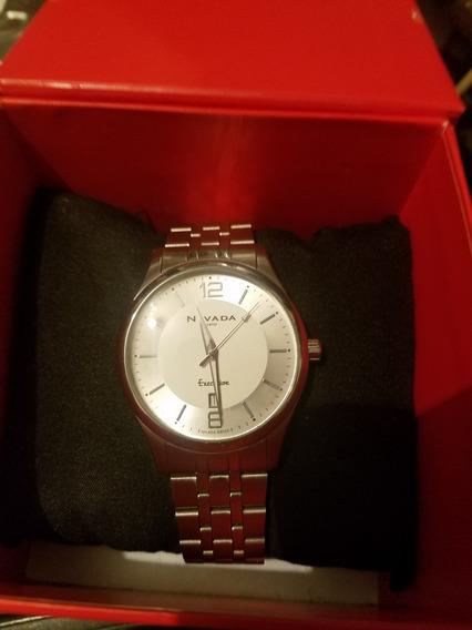 Reloj Nivada Executive Np16190macpa P/caballero Envío Gratis
