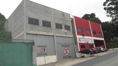 Galpão Industrial Em Embu Das Artes, Vizinho Corpo Bombeiros