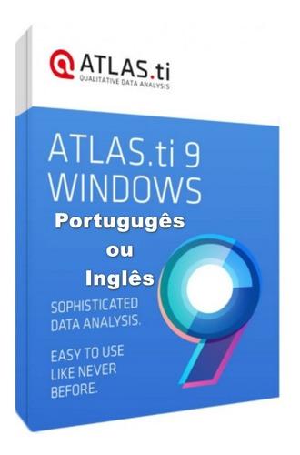 Imagem 1 de 4 de Atlas Ti 9 Nova Versão + Português Ou Inglês