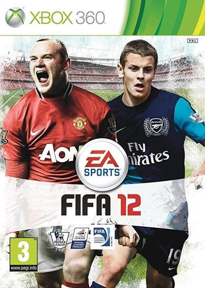 Fifa 12 Xbox 360 Mídia Física Original