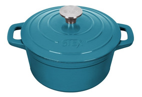 Caçarola Redonda 21 Cm - Aquamarine - Modelo 2019
