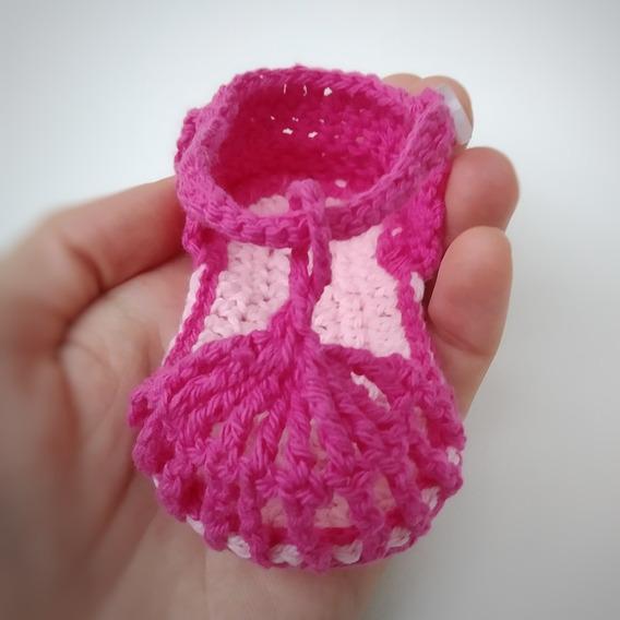 Sandalias A Crochet Para Bebés